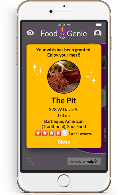 Food Genie Selected The Pit Restaurant